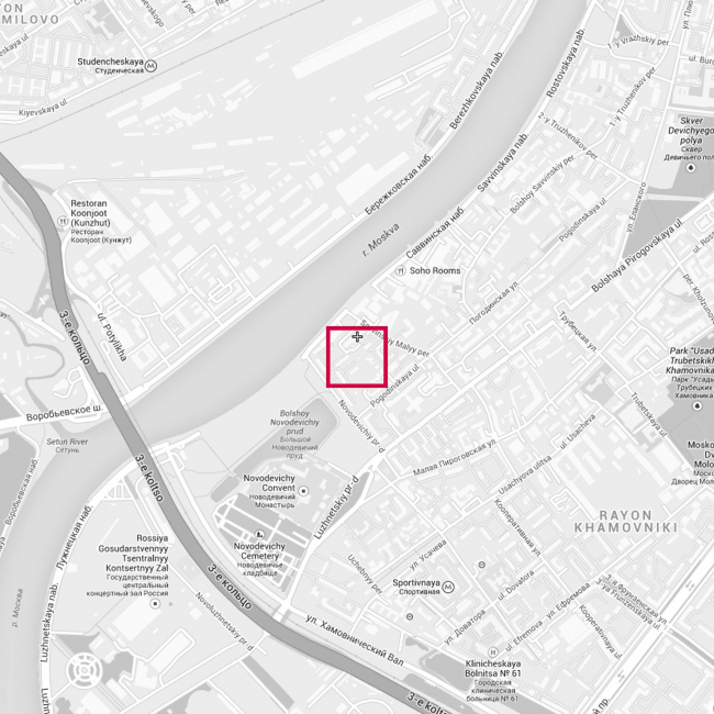 Жилой квартал «Саввинский». Проект, 2013 © Четвертое измерение
