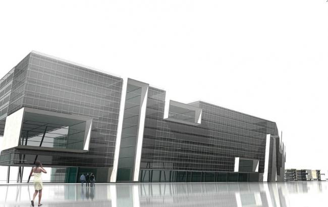 Комплекс аппартаментов «Успенское». 1 вариант. Проект, 2007 © Четвертое измерение
