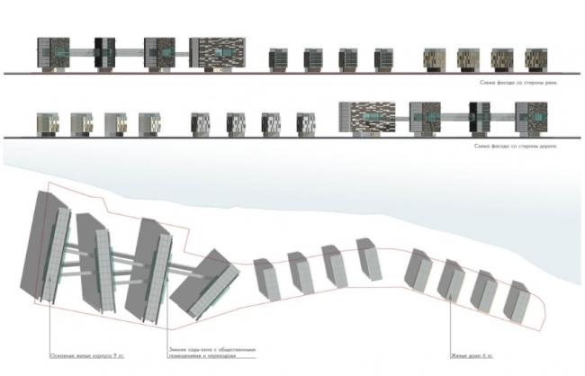 Комплекс аппартаментов «Успенское». Проект, 2007 © Четвертое измерение