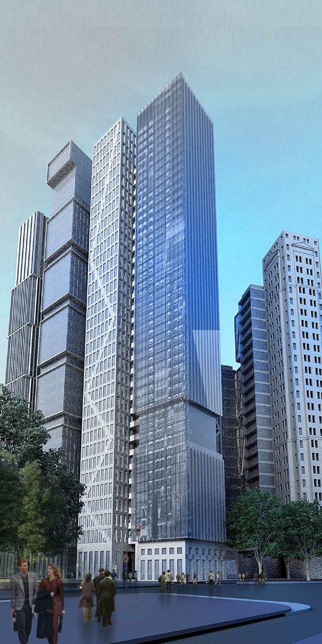 Жилой комплекс «Манхэттен». Проект, 2013 © Четвертое измерение