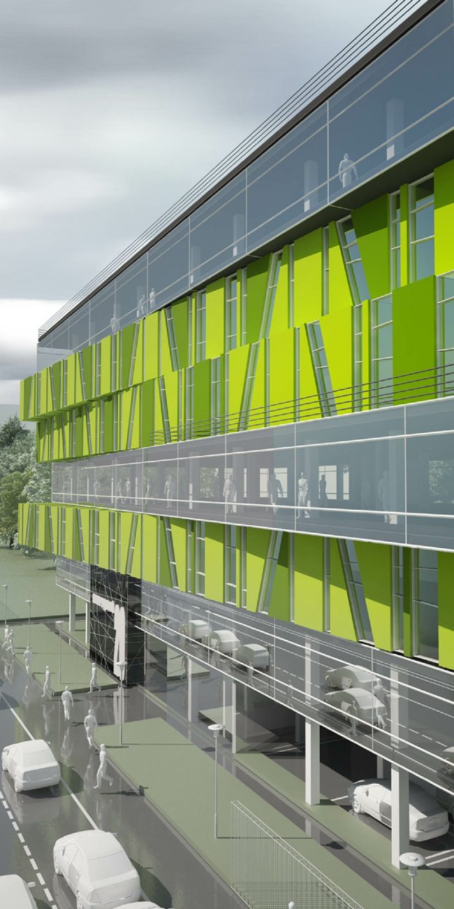 Офисное здание Останкинского пивоваренного завода. Проект, 2005