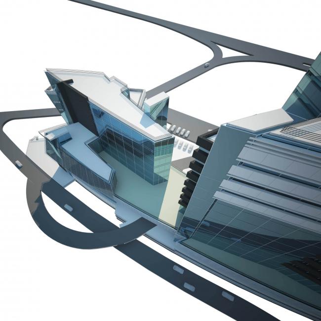 Административно-деловой комплекс металлургической компании. Проект, 2005 © Четвертое измерение