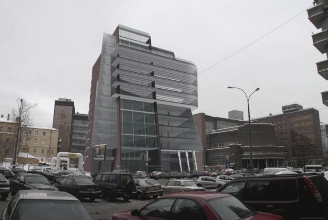 Офисное здание энергетической компании. Проект, 2003 © Четвертое измерение