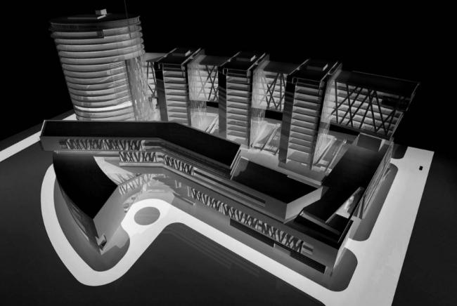 Многофункциональный центр «Дербеневский». Проект, 2009 © Четвертое измерение