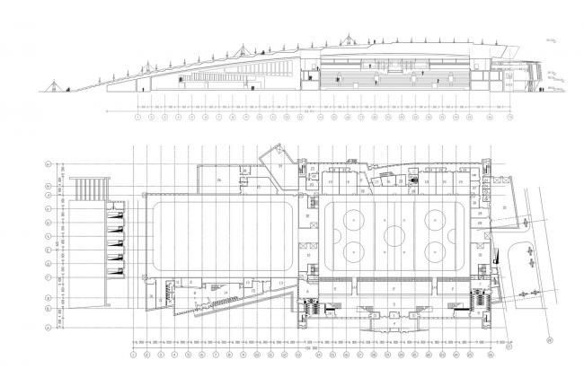 Ледовый дворец спорта. Проект, 2002 © Четвертое измерение
