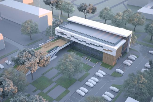 Торгово-досуговый центр «ПАРК 13». Проект, 2012 © Четвертое измерение