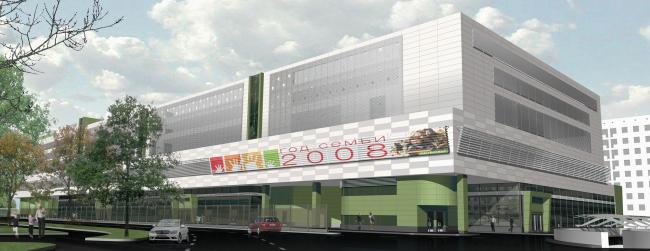 Транспортно-пересадочный комплекс «Планерная». Проект фасадов, 2008