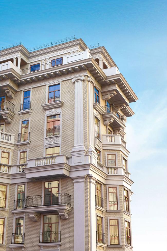 Элитный жилой комплекс Hovard Palace. Фотография предоставлена компанией «РОТО ФРАНК»