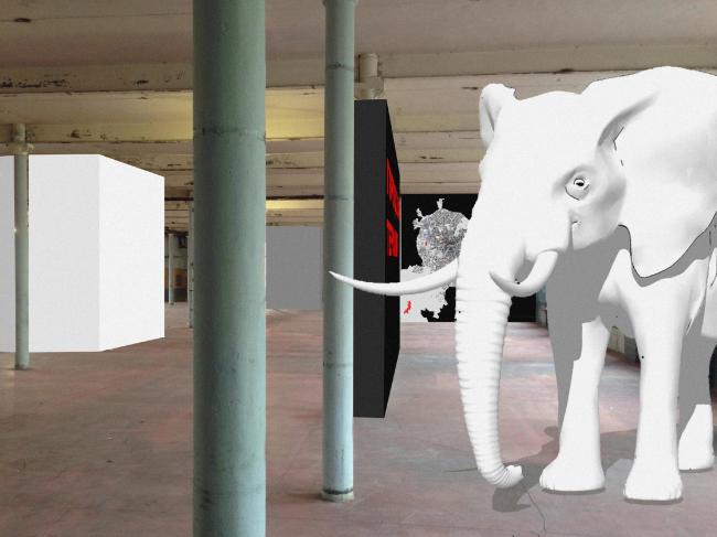 Вероятно, как-то так будет выглядеть проект «Белый слон» © Wowhaus