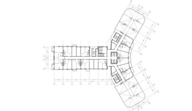 Жилой комплекс «Хайтек-Сити» © Архитектурная мастерская «А.Лен»