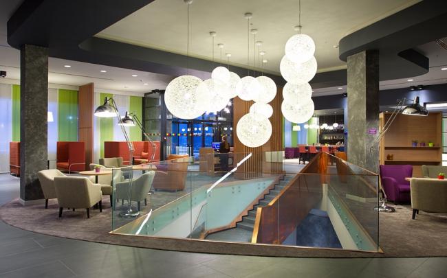 Интерьер отеля Park Inn by Radisson в Нижнем Тагиле. Изображение предоставлено организаторами