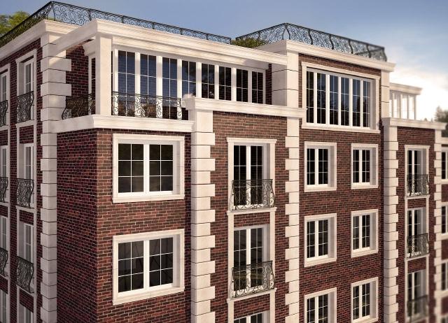 Жилой дом Greenwich Hall в Ростове-на-Дону, проект. Изображение с сайта gn-development.com