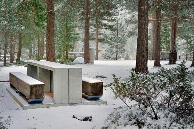 Зона отдыха Лиасаннен. Архитекторы Jensen & Skodvin. Фото © Jarle Wæhler / Statens vegvesen