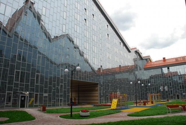 КНАУФ поставил материалы для пермского жилого комплекса «Астра».  фото: Дмитрий Ромашков