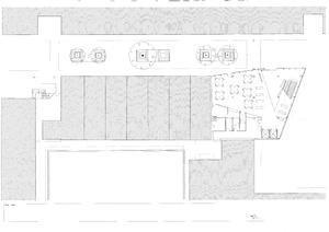 Магазин идей на Крисп-Стрит. Первый этаж. План