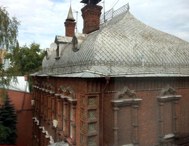 Реставрация исторического дома военного атташе Франции на Пречистенской набережной. Фотография предоставлена компанией RHEINZINK