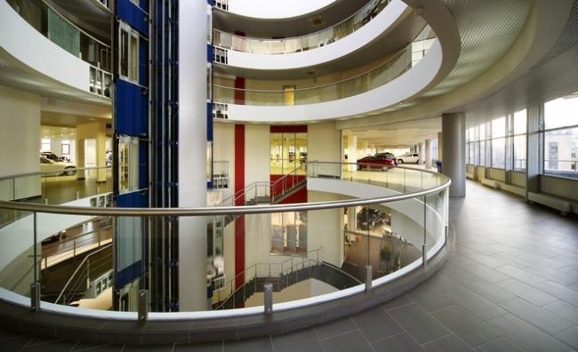 Многофункциональный комплекс «Олимп». Реализация, 2007 © Архитектурное бюро «А.Лен»