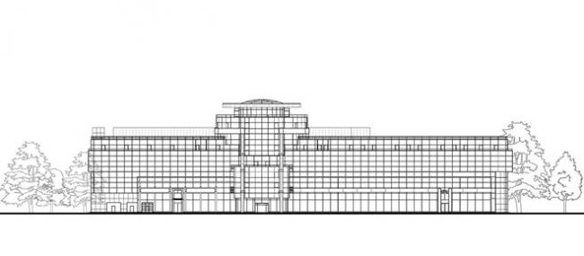Многофункциональный комплекс «Олимп» © Архитектурное бюро «А.Лен»