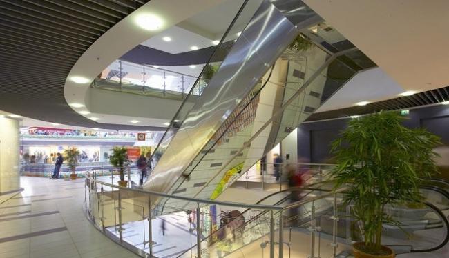 Многофункциональный комплекс «Рамстор». Совместно с Э.Онкуоглу (Турция) © Архитектурное бюро «А.Лен»