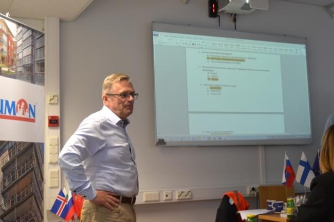 Основатель бизнеса Tapani Kinnunen. Фотография с сайта www.lumon.com