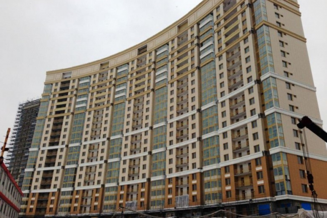 Жилой комплекс «Мосфильмовский». Фотография с сайта www.ortost.ru