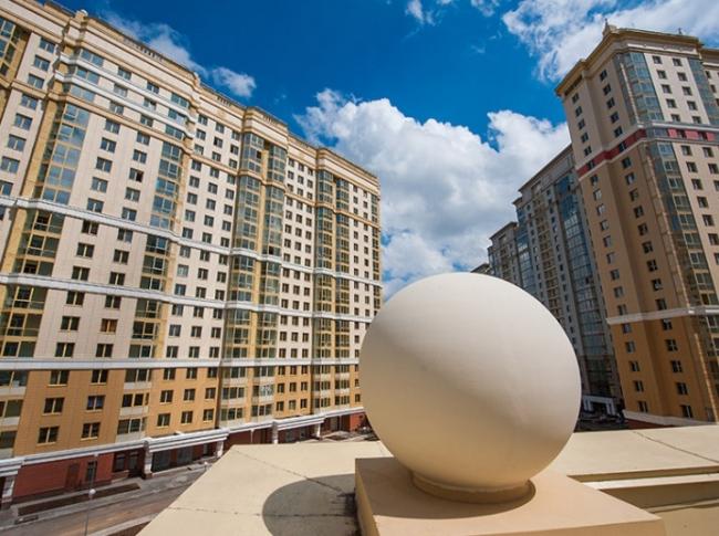 Жилой комплекс «Мосфильмовский». Фотография с сайта www.mosfilm.ndv.ru
