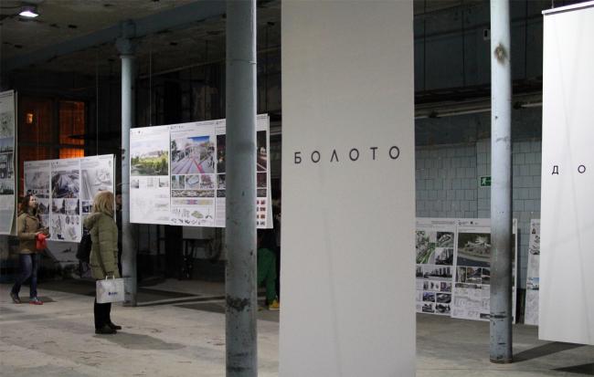 Зодчество, 5 корпус, 3 этаж. Экспозиция Оскара Мамлеева. Фотография © Юлия Тарабарина