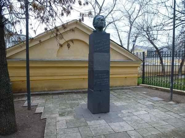 Памятник Осипу Мандельштаму в Москве.