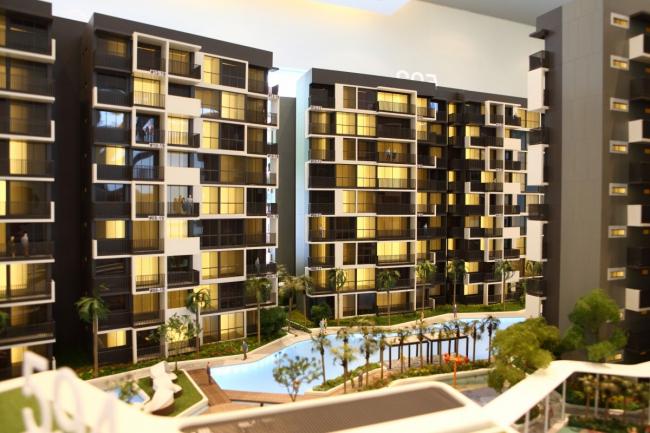 Девелоперский проект жилищной и коммерческой застройки в Сингапуре. Изображение с сайта theedgeproperty.com.sg