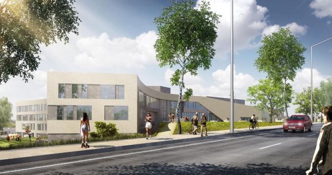 Школа «Летово». Проект, 2015 © ам «Атриум»