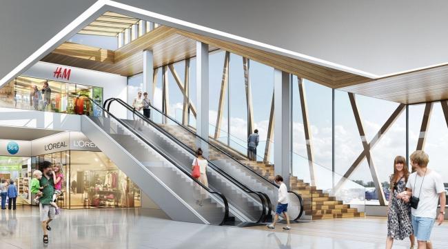 Торговый центр «МАН». Проект, 2013 © ам «Атриум»