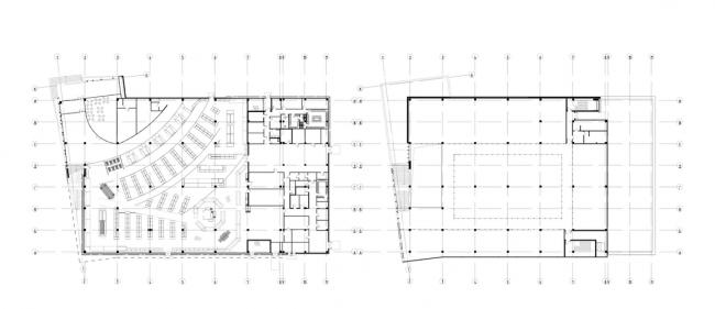 Торговый центр «МАН». План 1-го этажа © ам «Атриум»