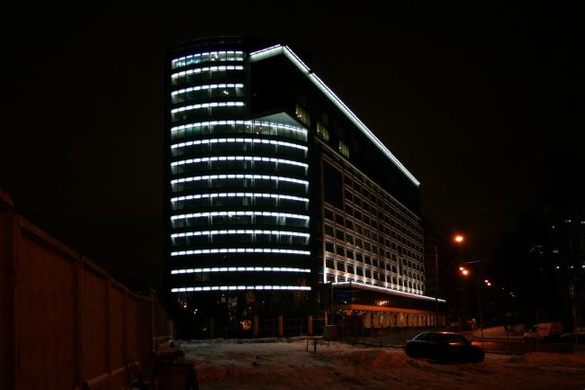 Бизнес-центр «Северное сияние» © Архитектурная мастерская Сергея Ткаченко