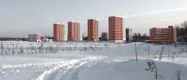 Жилой комплекс в микрорайоне «Заветы Ильича» © АБ «Остоженка»