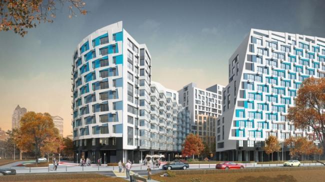 Многофункциональный жилой комплекс в г. Королёв. Проект, 2013 © АБ «Остоженка»