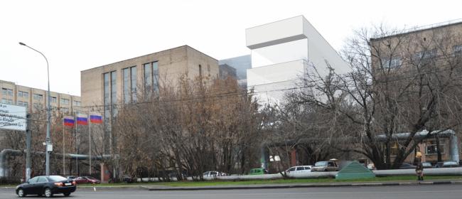 Реконструкция здания Государственного Архива РФ. Существующее положение © АБ «Остоженка»