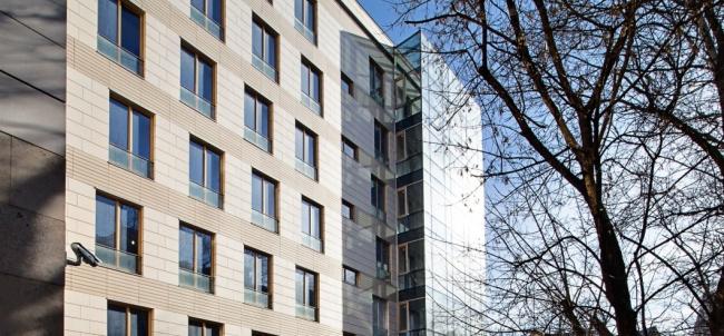 Жилой дом на Смоленском бульваре. Постройка, 2012 © АБ «Остоженка»