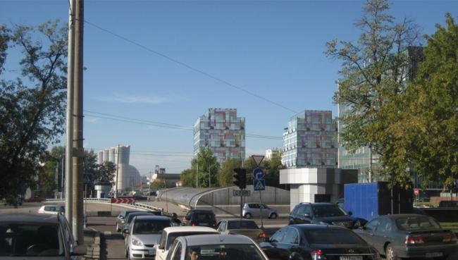 Офисный комплекс «ARCUS III». Проект, 2008 © АБ «Остоженка»