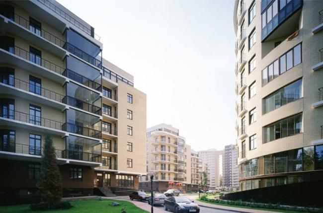 Жилой комплекс на Староволынской улице. Реализация, 2007 © АБ «Остоженка»