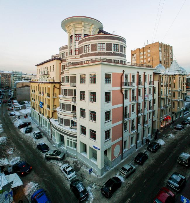 Многофункциональный комплекс «Сад-лабиринт» © Архитектурная мастерская Сергея Ткаченко