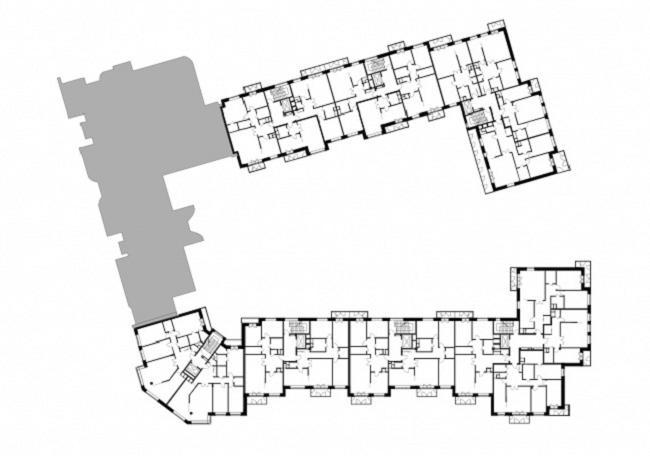 Жилой комплекс в Оболенском переулке. Реализация, 2007 © АБ «Остоженка»