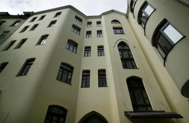 Реконструкция жилого дома в Нащокинском переулке. Реализация, 2005 © АБ «Остоженка»