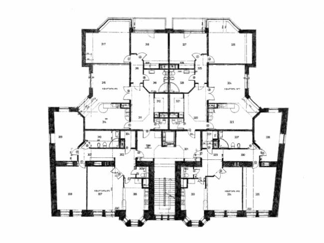 Реконструкция жилого дома во 2-ом Обыденском переулке © АБ Остоженка