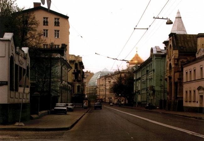 Жилой дом на улице Остоженка. Проект, 1997 © АБ Остоженка