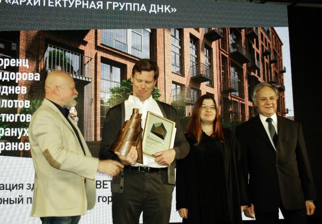 Вручение премии «Татлин» мастерской ДНК аг. Фотография © Алла Павликова