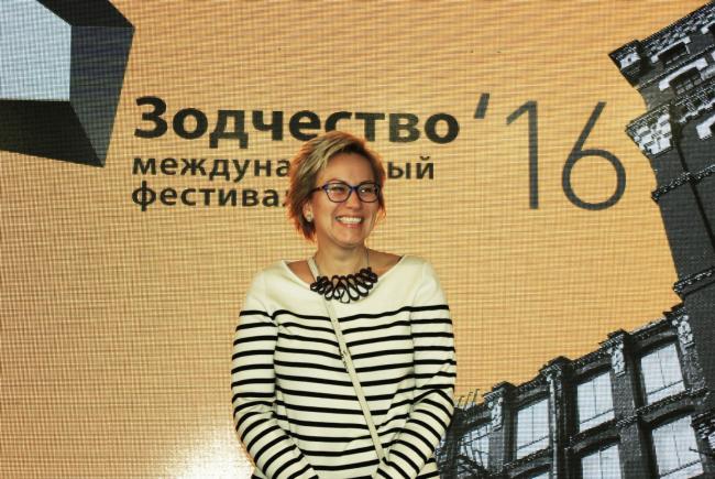 Куратор Анна Медлева. Фотография © Алла Павликова