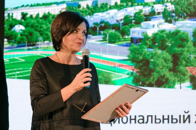 Награждение стенда Воронежской области. Фотография © Александр Портов