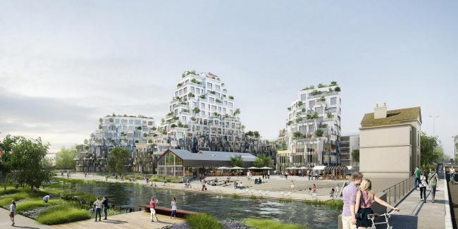 Жилой комплекс Ilot de l'Octroi © L′Autre Image (Paris)