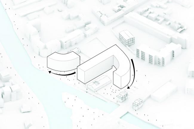 Жилой комплекс Ilot de l'Octroi © MVRDV