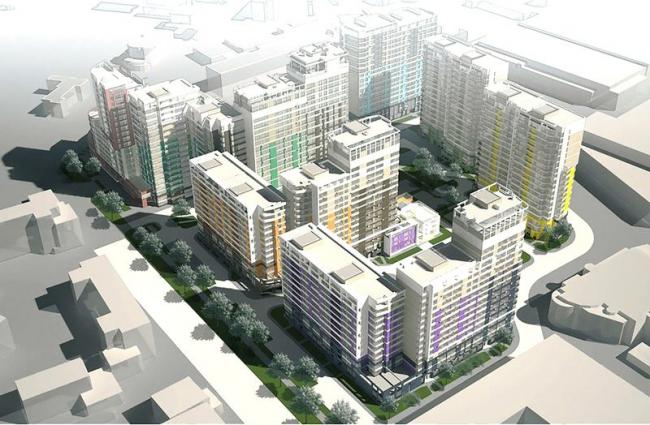 Жилой комплекс на ул.Мельникова © Архитектурное бюро Асадова